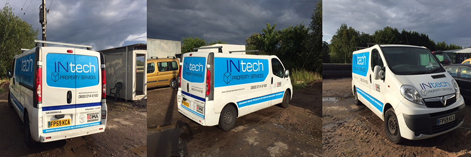 vehicle graphics example for INtech
