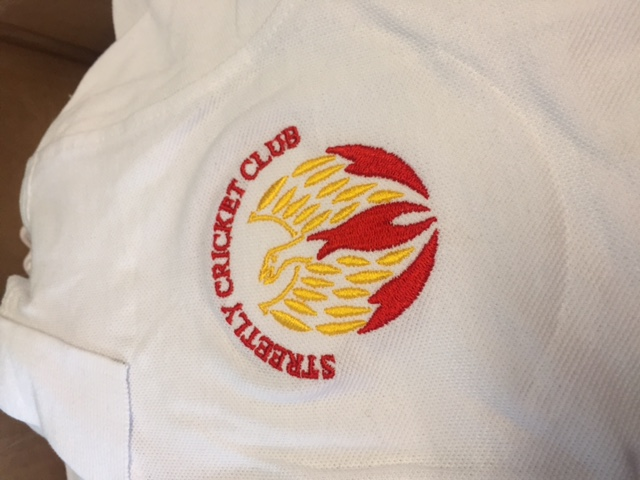 Streetly club trade embroidery
